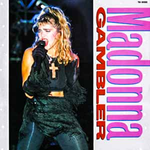 Madonna Gambler Single Cover