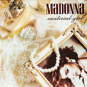 Madonna - Material Girl - Single Cover