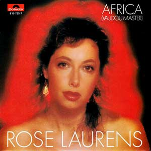 Rose Laurens - Africa (Voodoo Master) - French Cover Single