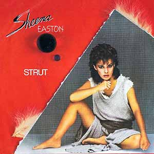 Sheena Easton Strut Single Cover