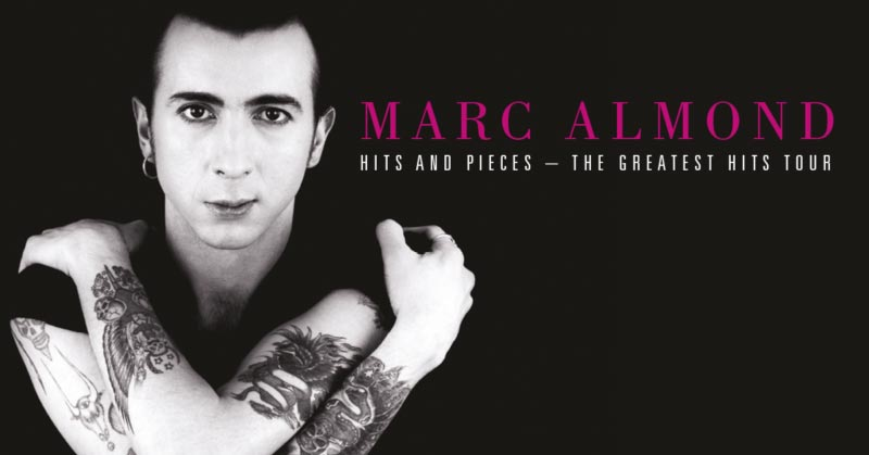 Marc Almond Soft Cell Hits And Pieces Compilation Cover