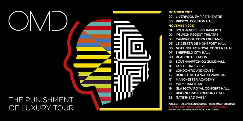 OMD The Punishment of Luxury Tour Dates 2017