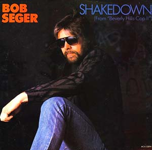 Bob Seger - Shakedown - Single Cover Beverly Hills Cop II