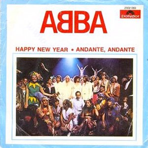 Abba - Happy New Year - Single Cover