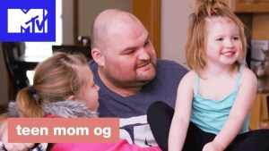 Teen Mom OG celebrating Father's Day