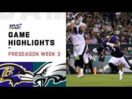 NFL 2019 Preseason Week 3 Highlights - Ravens vs. Eagles