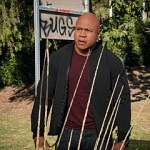 """""""Mother"""" - Pictured: LL COOL J (Special Agent Sam Hanna). Akhos Laos (Carl Beukes), a former black ops agent originally recruited and trained by Hetty Lange, returns to seek revenge on Hetty for the life she introduced him to, on the 250th episode of NCIS: LOS ANGELES, Sunday, Dec. 1 (9:30-10:30 PM, ET/9:00-10:00 PM, PT) on the CBS Television Network. Series regular Eric Christian Olsen co-wrote the episode with Babar Peerzada. Photo: Bill Inoshita/CBS ©2019 CBS Broadcasting, Inc. All Rights Reserved."""