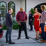 """Answers"" - Pictured: Chris O'Donnell (Special Agent G. Callen), LL COOL J (Special Agent Sam Hanna), DR