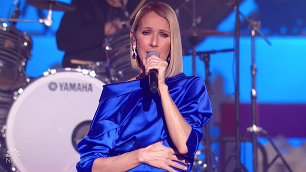 Celine Dion Performs Indoors At Macys Parade