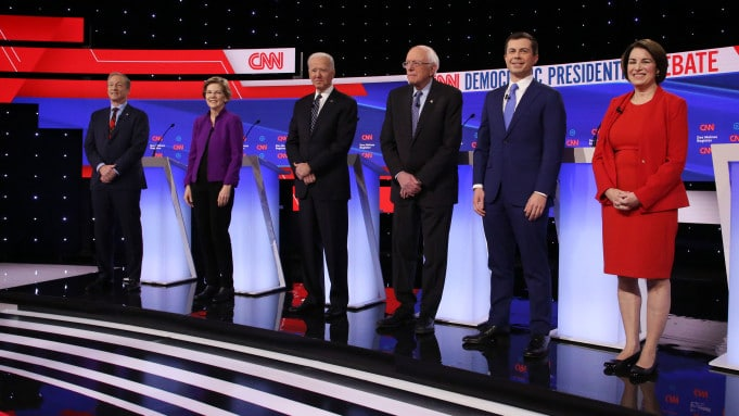 ABC News reports Moderators Time and Coverage of 'The Democratic Debate', Airing Live, Friday, Feb. 7