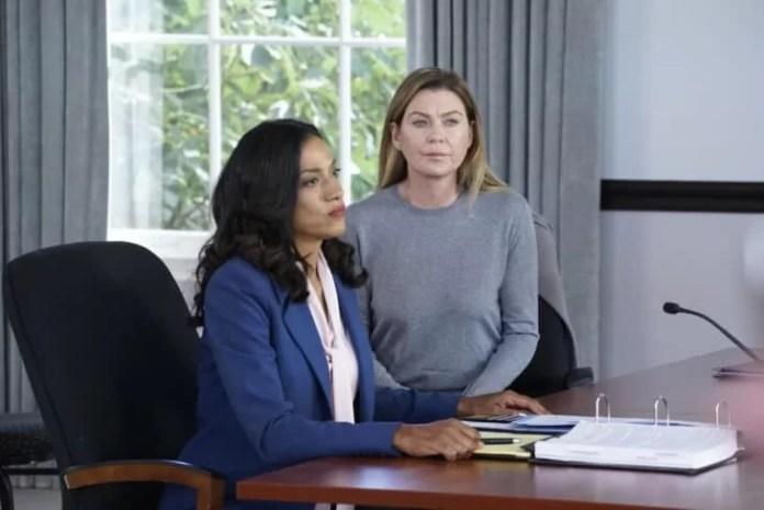 Greys Anatomy Season 16 Episode 11 -Bailey returns to work Maggie quit Grey Sloan