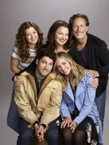 Jessy Hodges as Joanna, Adam Pally as Dave, Fran Drescher as Debbie, Abby Elliott as Rebecca, Steven Weber as Stew