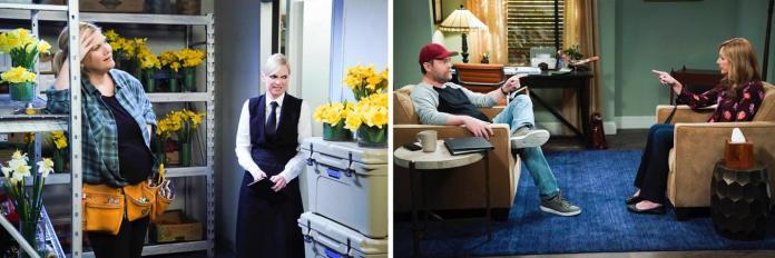 Mom Season 7 Episode 13 - Who Returns as Bonnies Therapis