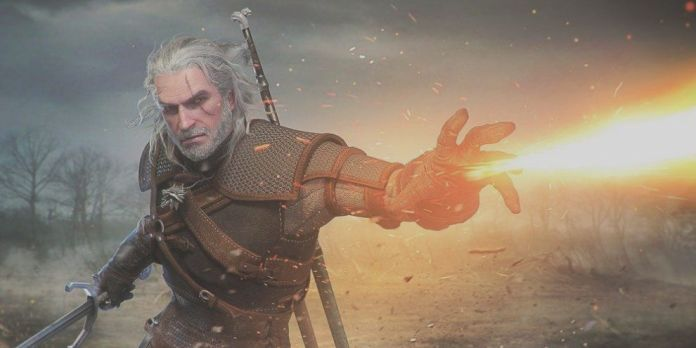 the witcher animated