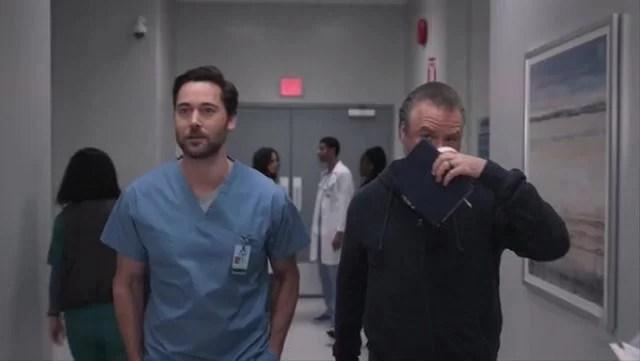 Season Finale New Amsterdam Season 2 Episode 18 - Matter of Seconds Ryan Eggold as Dr. Max Goodwin