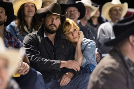 (L-R) Cole Hauser as Rip Wheeler and Kelly Reilly as Beth Dutton. Episode 3 of Yellowstone