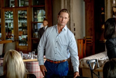 "Yellowstone season 3 Episode 6 - ""All for Nothing"" Josh Holloway as Roarke Morris"