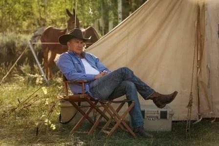 Yellowstone season 4 - Kevin Costner as John Dutton.