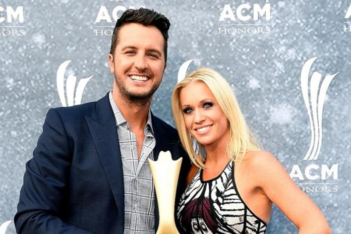 luke-bryan-relationship-with-wife- lina