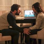JAMES RODAY RODRIGUEZ, FLORIANA LIMA holding hands in A Million Little Things Season 3 Episode 8 Photos