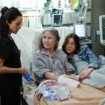 ABIGAIL SPENCER, MARY MCDONNELL, DANIELLA GARCIA in Rebel Season 1 Episode 5