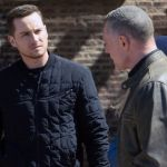 Chicago PD season 8, episode 13 Pictured esse Lee Soffer as Jay Halstead, Jason Beghe as Hank Voight