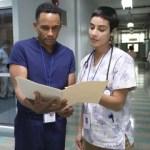 HILL HARPER, ESMERALDA PIMENTAL in The Good Doctor Season 4 Episode 17