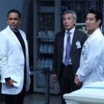 HILL HARPER, HIRO KANAGAWA, WILL YUN LEE in The Good Doctor Season 4 Episode 17