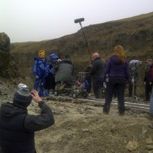 Quarry filming Wizards vs Aliens