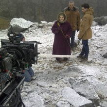 Quarry filming for Wizards vs Aliens