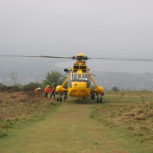Search and Rescue helicopter