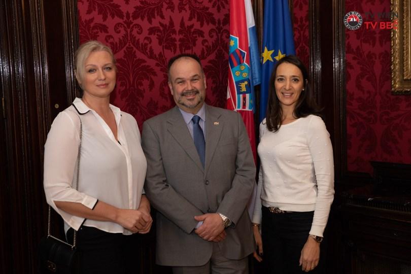 Hrvatski Veleposlanik Daniel Glunčić u posjet primio predstavnice udruge Get2gether Sound