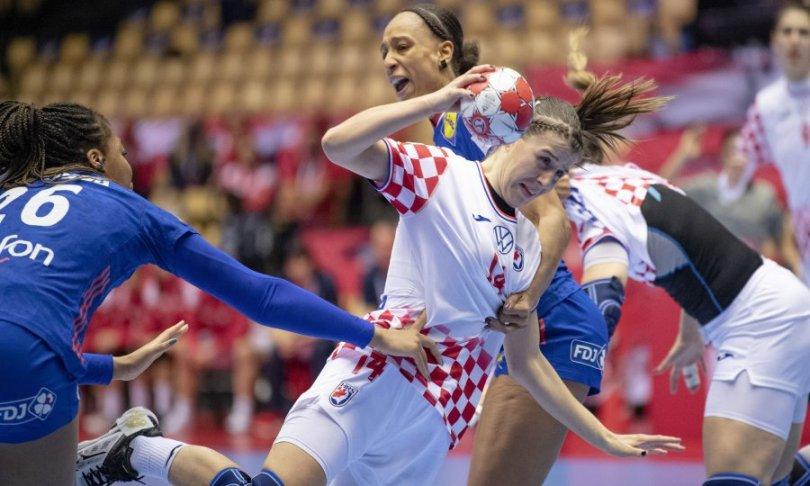Francuska lakoćom kaznila loše prvo poluvrijeme Hrvatske, ali nema veze, jer i europska bronca za naše bi djevojke bila prekrasna nagrada