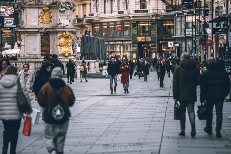 Područja grada Beča gdje su obavezne FFP2 maske i vani dok šetate