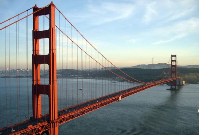 Golden Gate, znameniti most, simbol San Francisca, otvoren 27. svibnja 1937.