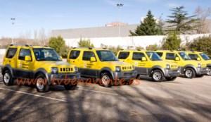 vehiculo proteccion civil jimny
