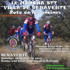 IX marcha lopenta