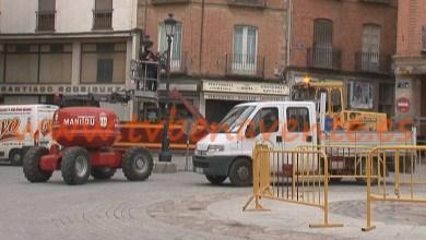 Photo of RETIRADA DE LAS FAROLAS DE LA PLAZA MAYOR