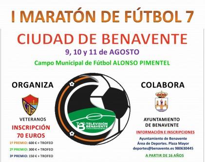 I Maraton futbol 7 Ciudad de Benavente