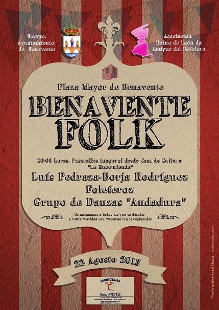 II festival folk benavente