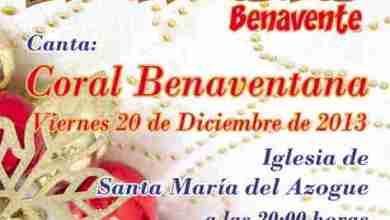 Photo of CONCIERTO DE NAVIDAD DE LA CORAL BENAVENTANA