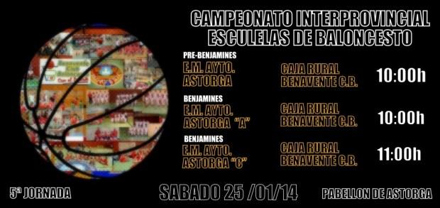 benavente baloncesto - competiciones campeonato interprovincial escuelas