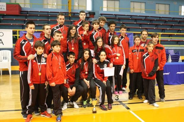 senior y cadete 2014 Club taekwondo benavente