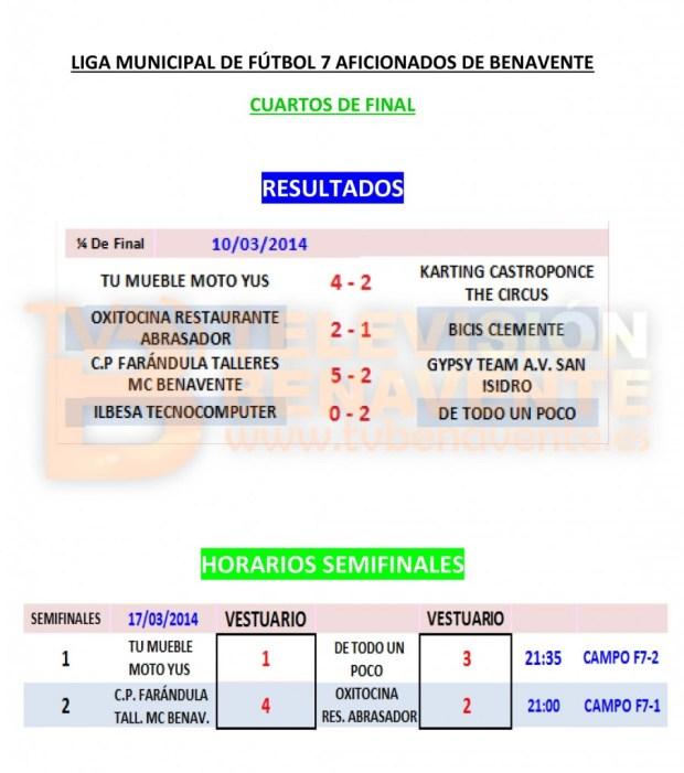 CUARTOS DE FINAL 2-1