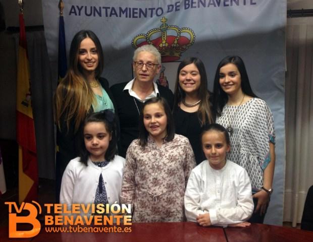Representantes de la juventud benavente 2014 - 2