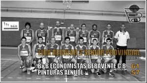 liga regular senior benavente baloncesto