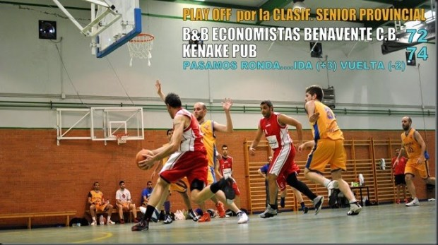 6 play off baloncesto benavente
