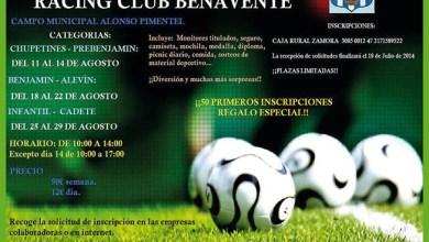 Photo of EL RACING CLUB BENAVENTE ORGANIZA UN CAMPUS DE FÚTBOL PARA ESTE VERANO