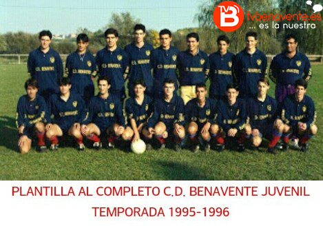 cd benavente temporada 1995 1996