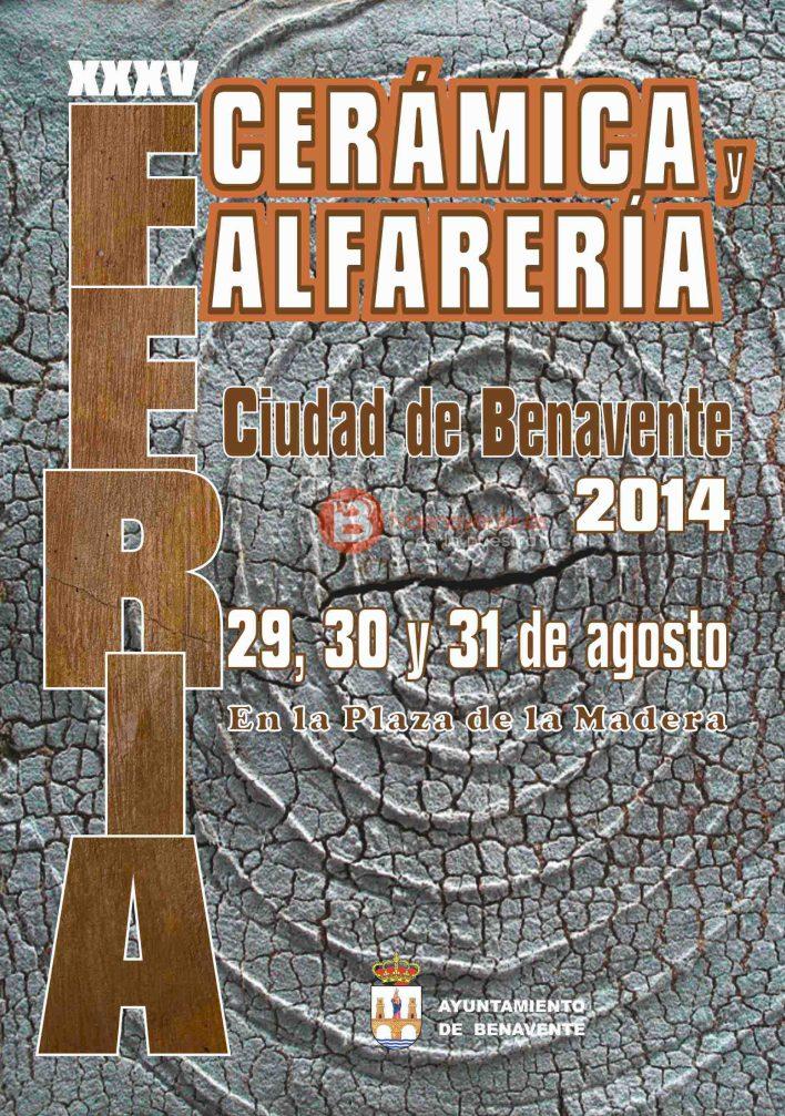 Cartel Feria de Cerámica y Alfarería 2014